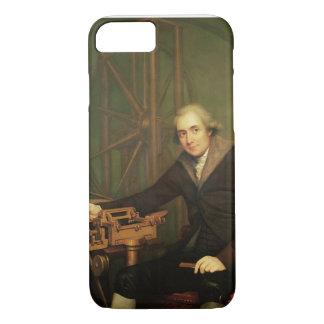 Coque iPhone 8/7 Portrait de Jesse Ramsden (1735-1800) (huile sur