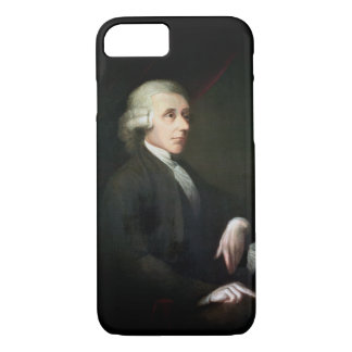 Coque iPhone 8/7 Portrait de Joseph Priestley (1733-1804) (huile