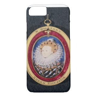 Coque iPhone 8/7 Portrait de la Reine Elizabeth I (la semaine sur