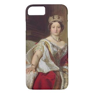 Coque iPhone 8/7 Portrait de la Reine Victoria (1819-1901) 1859
