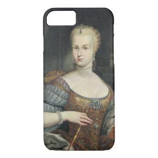 Coque iPhone 8/7 Portrait de l'épouse de Pietro Leopoldo di Lorena,