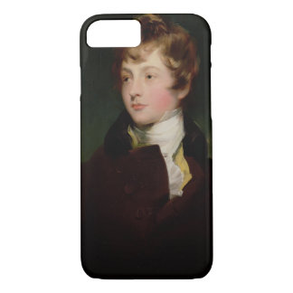 Coque iPhone 8/7 Portrait d'Edouard Impey (1785-1850), c.1800
