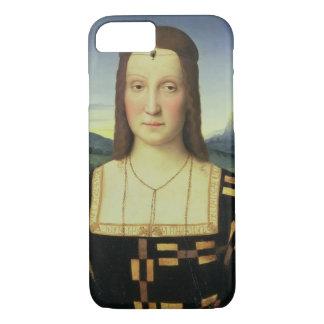 Coque iPhone 8/7 Portrait d'Elizabeth Gonzaga, c.1504 (huile sur le