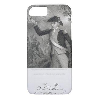 Coque iPhone 8/7 Portrait du Général Francis Marion à la bataille o