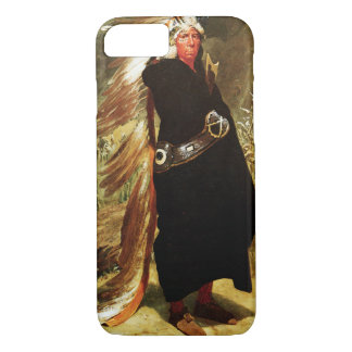 Coque iPhone 8/7 Portrait d'un chef indien