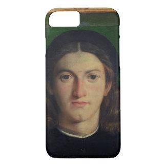 Coque iPhone 8/7 Portrait d'un jeune homme, c.1505 (huile sur le