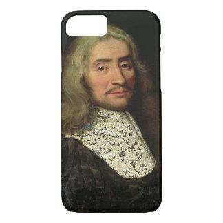 Coque iPhone 8/7 Portrait d'un monsieur (huile sur la toile)