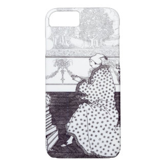 "Coque iPhone 8/7 Prayer du baron, ""du viol de la serrure"", b"
