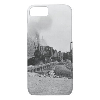 Coque iPhone 8/7 Premier train passant par le mur de Pékin, ch