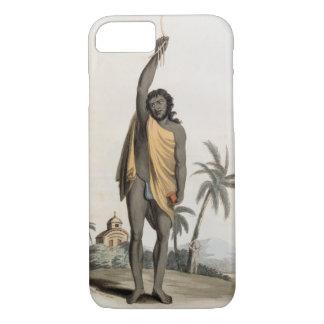 Coque iPhone 8/7 Prêtre indou, pub. par Edouard Orme, 1804 (litho)