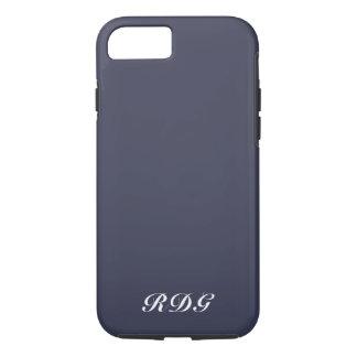 Coque iPhone 8/7 Professionnel moderne de bleu marine avec le