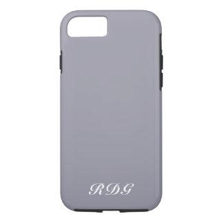 Coque iPhone 8/7 Professionnel moderne gris-clair avec le
