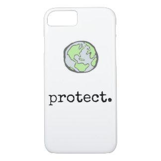 Coque iPhone 8/7 Protégez notre cas de téléphone de planète