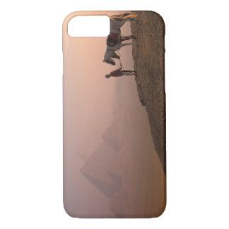 Coque iPhone 8/7 Pyramides de l'Afrique, Egypte, le Caire, Gizeh,
