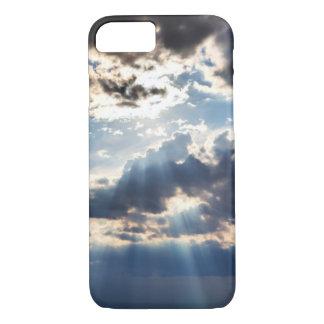 Coque iPhone 8/7 Rayons de soleil d'en haut
