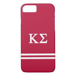 Coque iPhone 8/7 Rayure de sport du sigma | de Kappa
