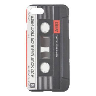 Coque iPhone 8/7 Regard vintage d'enregistreur à cassettes de
