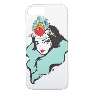 Coque iPhone 8/7 Reine de série de coeurs : Reine 1