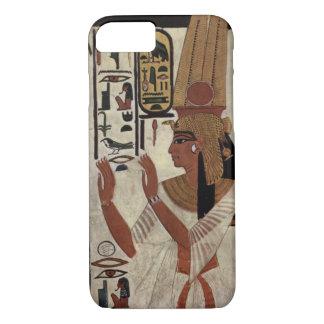 Coque iPhone 8/7 Reine égyptienne antique [Nefertari]
