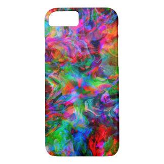 Coque iPhone 8/7 Remous lumineux psychédélique intense de couleur