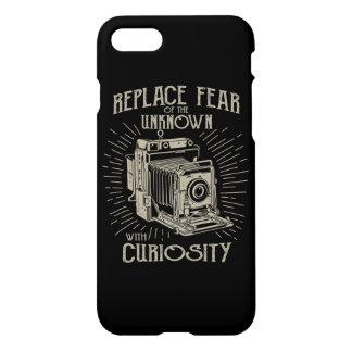 Coque iPhone 8/7 Remplacez le cas brillant de téléphone de crainte