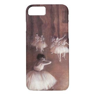 Coque iPhone 8/7 Répétition de ballet sur l'étape par Edgar Degas