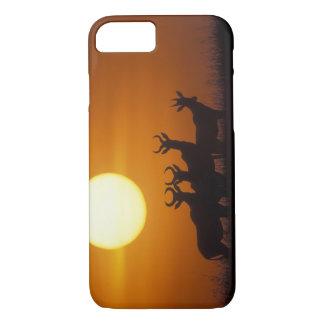 Coque iPhone 8/7 Réservation de jeu de l'Afrique, Kenya, Mara de