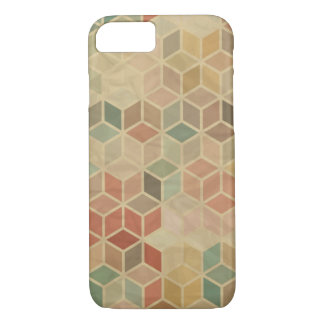 Coque iPhone 8/7 Rétro motif géométrique 5