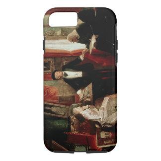 Coque iPhone 8/7 Richard Wagner avec le daught de Franz Liszt et de