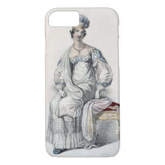 Coque iPhone 8/7 Robe d'opéra, plat de mode de Reposi d'Ackermann