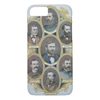 Coque iPhone 8/7 Rois de bétail de l'ouest américain, c.1880