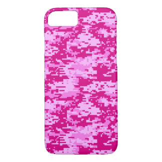 COQUE iPhone 8/7 ROSE DE CAMO DIGITAL