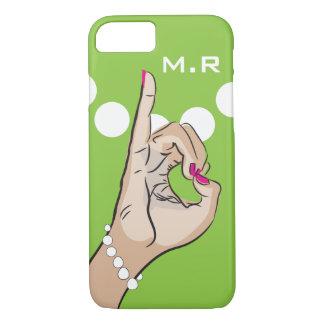 Coque iPhone 8/7 Rose et vert de la vie de sororité