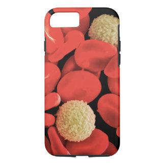 Coque iPhone 8/7 Rouge et globules blancs