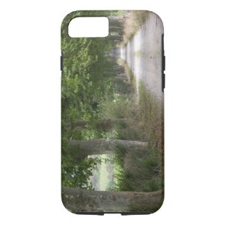 Coque iPhone 8/7 Route de campagne rurale de saleté près de la