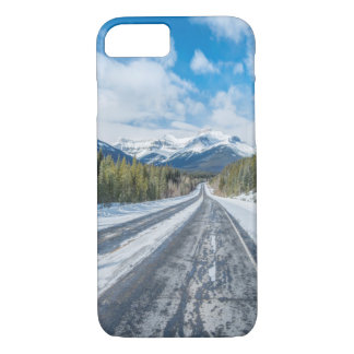 Coque iPhone 8/7 Route express de champs de glace
