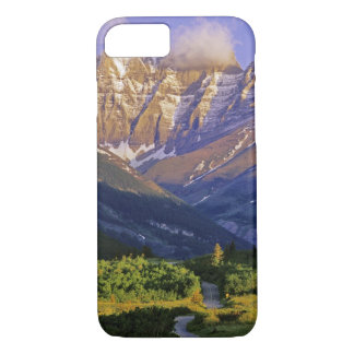 Coque iPhone 8/7 Route rouge de roche en parc national de lacs