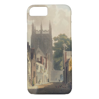 Coque iPhone 8/7 Ruelle de pie, Oxford, illustration du 'Histor