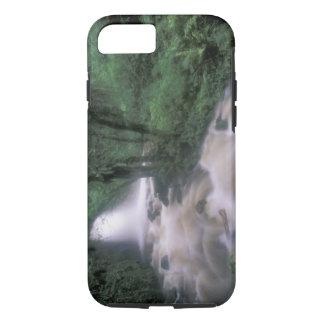 Coque iPhone 8/7 SA, le Pérou, le S.H. Machu Picchu, la cascade et