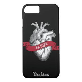 Coque iPhone 8/7 Saint-Valentin gothique de coeur