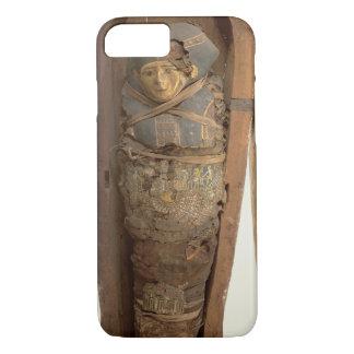 Coque iPhone 8/7 Sarcophage et corps momifié de Psametik I (664-