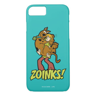 Coque iPhone 8/7 Scooby-Doo et Zoinks hirsute !