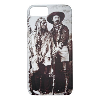 Coque iPhone 8/7 Séance Taureau en chef (1831-90) en tournée avec