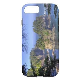 Coque iPhone 8/7 Seastacks, terres tribales de nation de Makah, cap