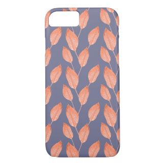 Coque iPhone 8/7 Série sans couture 2 de motif de feuille tropical