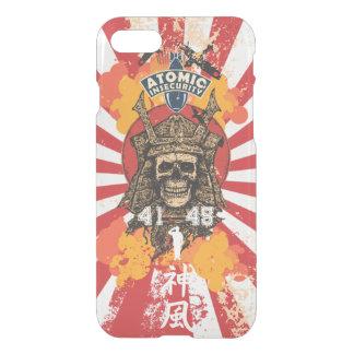 Coque iPhone 8/7 Shogoun de kamikaze du Japon transparent