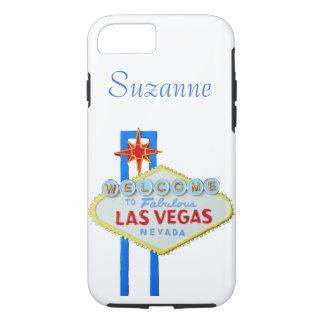 Coque iPhone 8/7 Signe bienvenu de Las Vegas