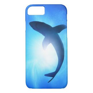 Coque iPhone 8/7 Silhouette de requin d'océan profond