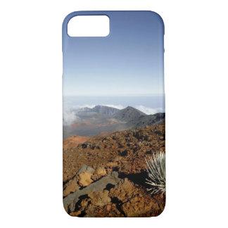 Coque iPhone 8/7 Silversword sur la jante de cratère de Haleakala