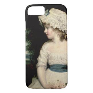 Coque iPhone 8/7 Simplicité - un portrait de Mlle Theophilia